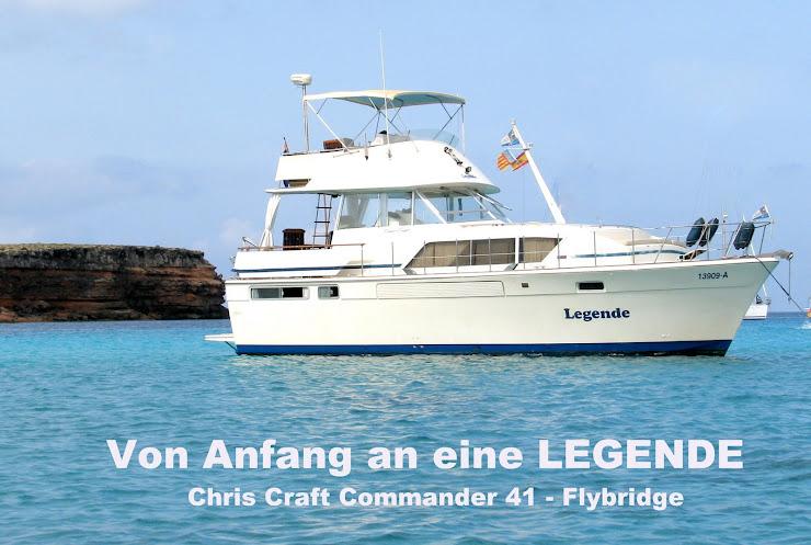 """Von Anfang an eine LEGENDE """"Chris Craft Commander 41"""""""