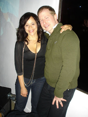 Rosie Perez And Peter Connelly