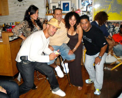 From Left) Crazy Legs, Soni, Tony Touch, Rosie Perez And Sixto