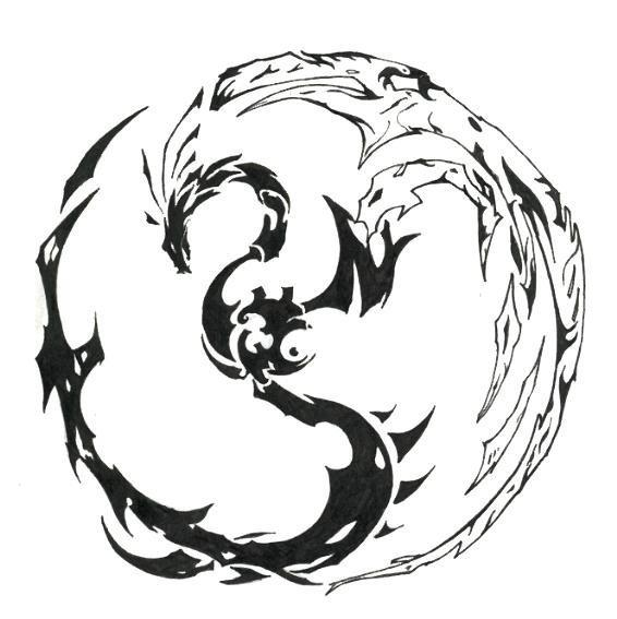 Labels: Black Dragon Phoenix Tattoo, Dragon Phoenix Tattoo