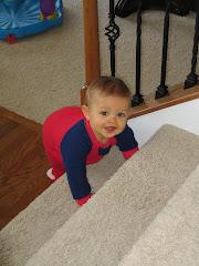 Look at me climb!!!!