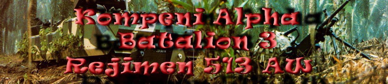 Kompeni Alpha Bn3 Rejimen513 AW
