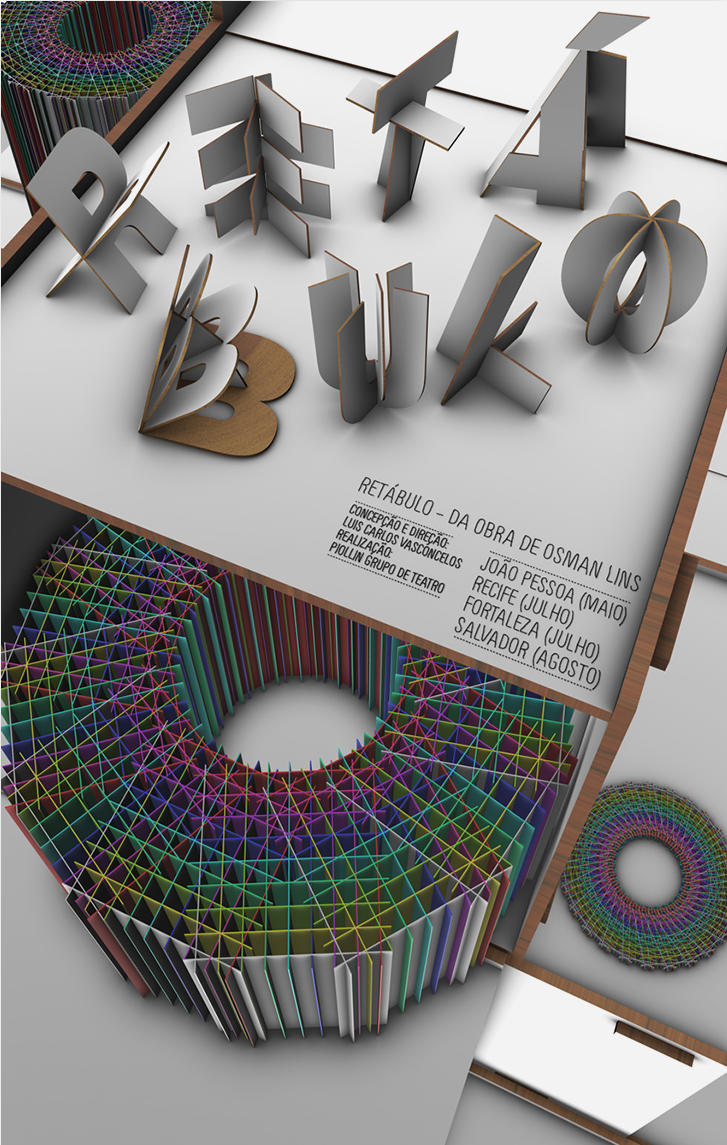 Poster design 3d - Poster Design 3d S O Paulo Based Molho The Design Name For Marcelo Altino Garcia Is