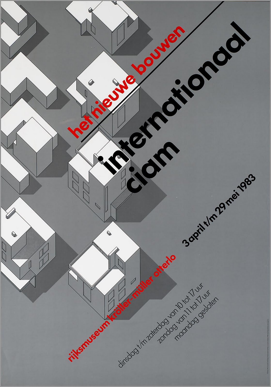 Poster design architecture - Art Of Posters Wim Crouwel Selected Graphic Designs And Prints From Museum Archive