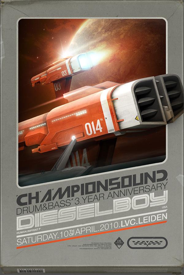 Flyer Goodness: Super Silo AKA Martijn Van Dam - the 3d ...