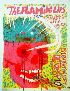 Flaming Lips Tour Poster