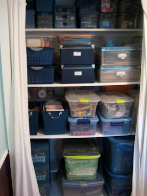 Craft Room Shelving