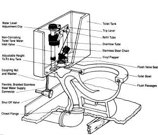 Ace Hardware Helpful Tips Anatomy Of A Toilet