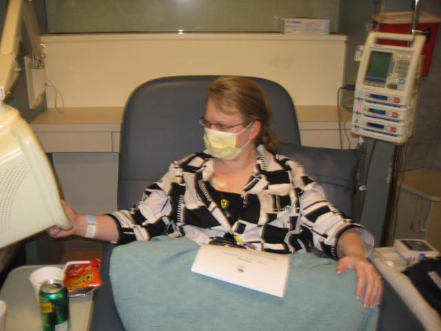 Taking Chemo 8/27/08