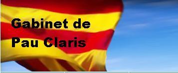 Gabinet de Pau Claris