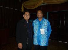 Bersama Osman Affan, penceramah motivasi