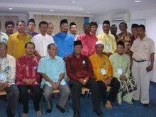 Pimpinan Cabang Hulu Selangor 2007/2010 bersama MB Selangor