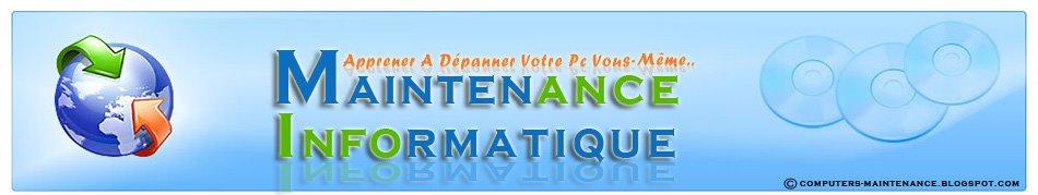 Maintenance informatique | PC | Ordinateur | cours GRATUIT