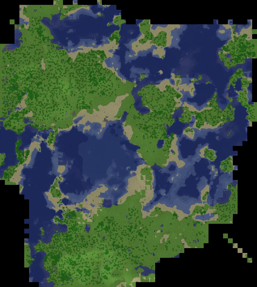 Minecraft map updates