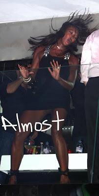 Naomi campbell no panties simply matchless
