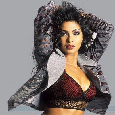 Priyanka Chopra - pictures of Priyanka Chopra posing in a sexy bikini top...