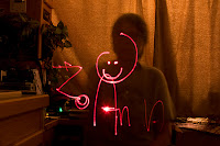 Click for Larger Image of Light Writing