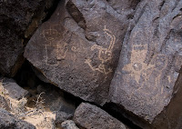 Click for Larger Image of Human Figure Petroglyphs