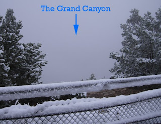 Click for Larger Image of Grand Canyon Fog