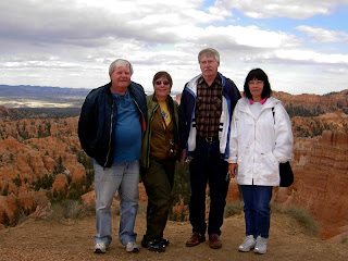 Click for larger image of John, ZoAnn, Ken and Pam