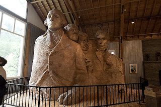 Click for Larger Image of the Original Design for Mt. Rushmore