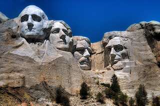 Click for Larger Image of Mt. Rushmore Closeup