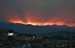Click for Larger Image of Sunset Over Lowes