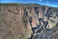 Click for Larger Image of Black Canyon of the Gunnison