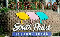 Click for Larger Image of South Padre Sign
