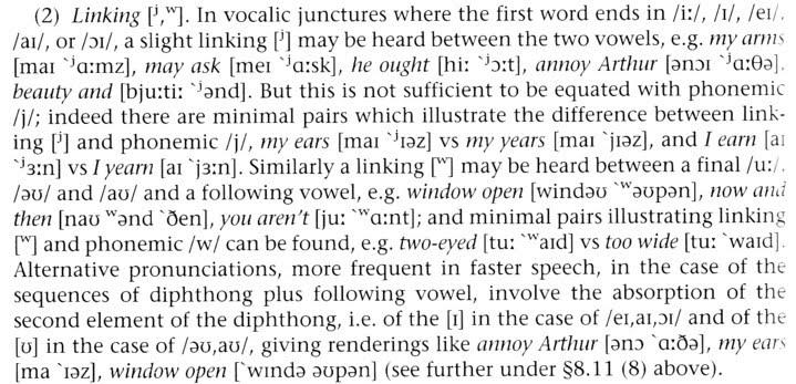 John Wellss Phonetic Blog Linking Semivowels