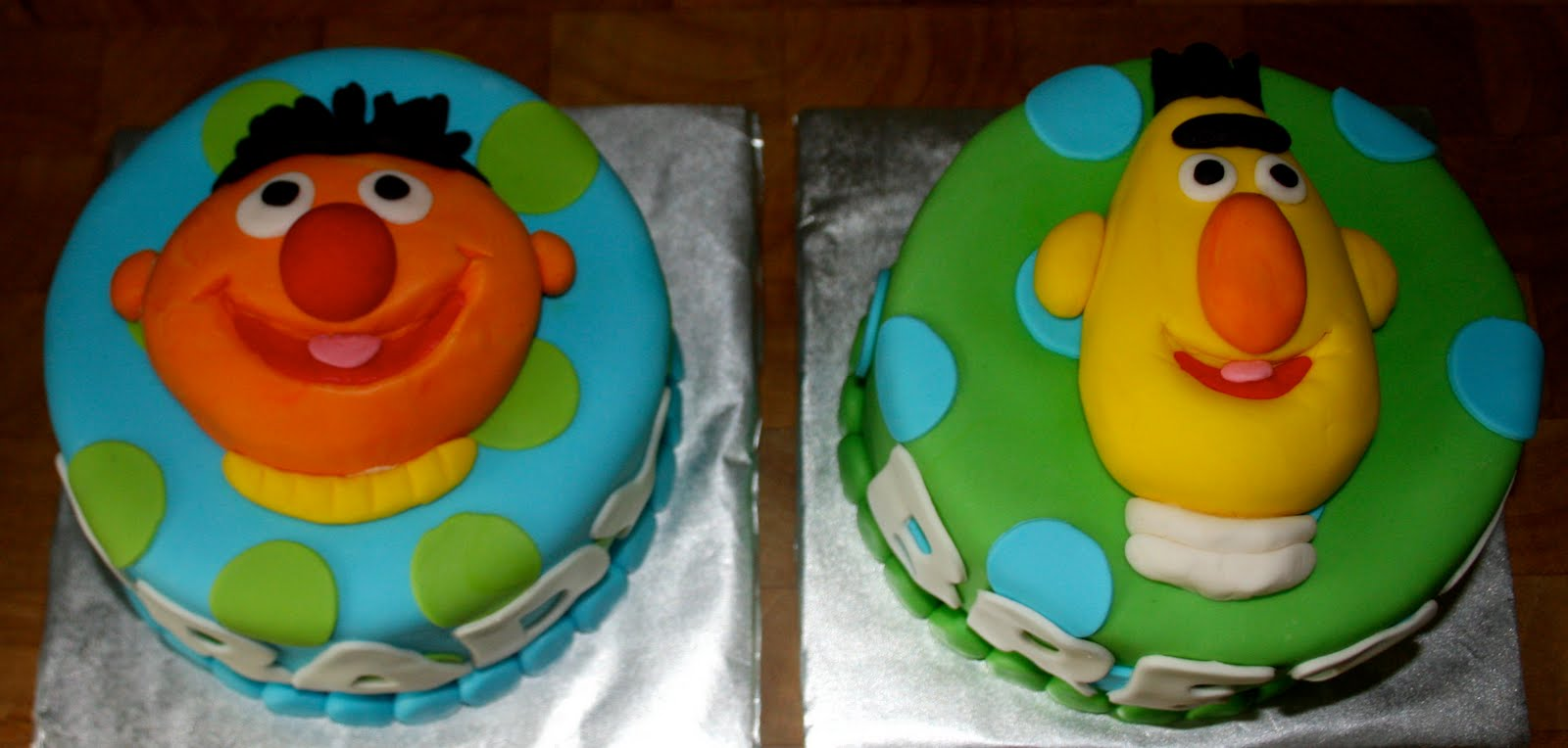 Cakes By Sheridan Bert And Ernie