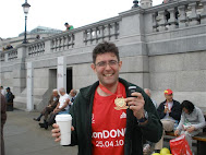 The London Marathon - 3 hours 43 Minutes 44  seconds