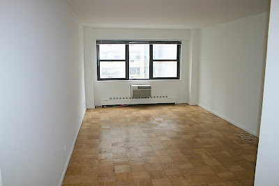 midtown east studio apartment available empty apartment. Black Bedroom Furniture Sets. Home Design Ideas
