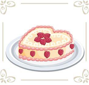 Cafe World Valentine Cake, Seafood Paella & Veggie Lasagna