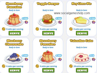 Cafe World: Unique 200 Servings Dishes
