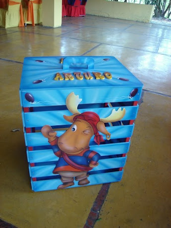 Caja de Regalos Bacyardigans