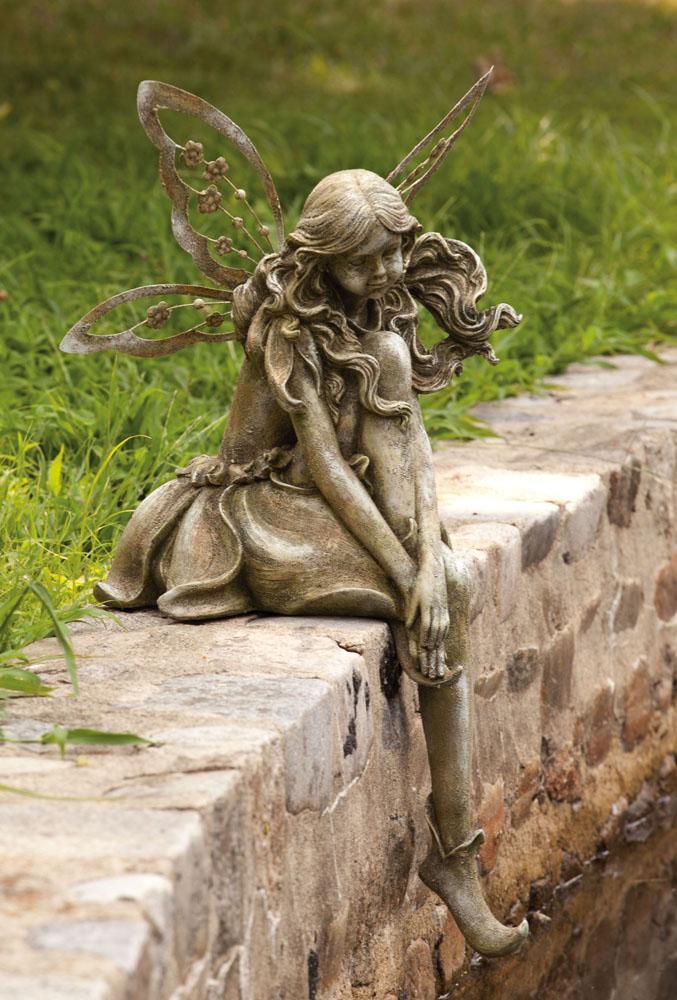 Evergreen enterprises bring upscale feel good function to your garden for 2011 - Garden fairy statues ...