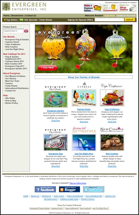 Evergreen enterprises a great for Evergreen shop