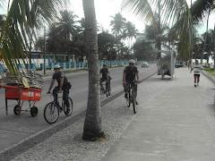 O GAT em ação preventiva na av. Beira Mar(praia de piedade)