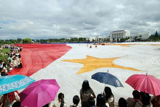 World biggest flag