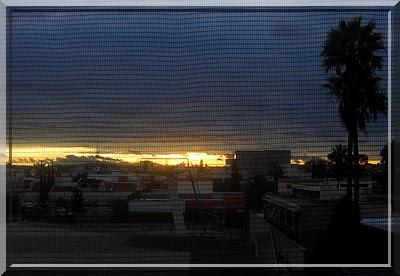 Sonnenaufgang, Tagesbeginn, Aguascalientes, Mexiko, IMSS, Hospital, número uno, 1