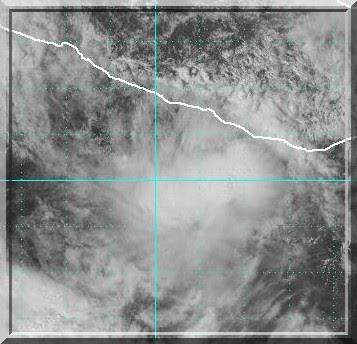 Hurrikan Odile, Oktober, Hurrikansaison 2008, Hurricane, Sturm, storm, tormenta, Zyklon, Mexiko, Mexico, Tropische Depression, Sturm, Prognose, Zugbahn, Pazifik, Atlantik, forecast, Vorhersage, Satellitenbild