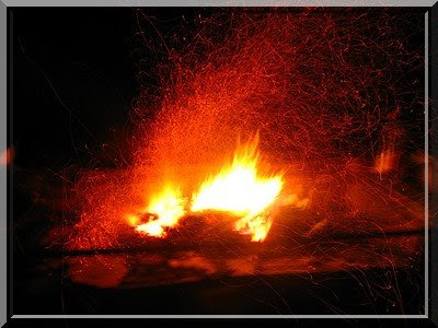 Lagerfeuer, Zelt, zelten, camping, Aguascalientes, Mexiko