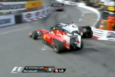 Formel 1: Safety Car, letzte Runde, Überholen, grüne Flagge, Michael Schumacher, Fernando Alonso, Monaco 2010, Strafe, Wissenschaft, Video, Sport, Ratten, Fotos,