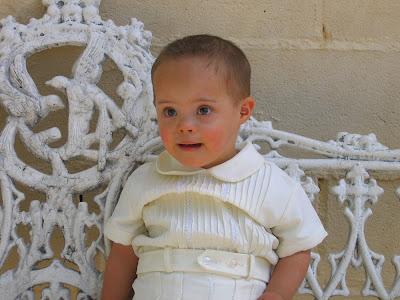 Kind mit Down Syndrom, Baby mit Down-Syndrom, Down Syndrom Fotos, síndrome de Down, Down´s Syndrome, Behinderung, Maximilian, Mexiko, Aguascalientes, Fotos, krank, Down-Syndrom,