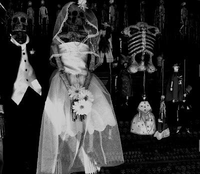 Día de los Muertos Mexiko - passend zu Halloween, Día de los Muertos, Grusel, Horror,