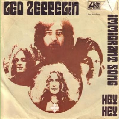 IMMIGRANT SONG - Led Zeppelin LIVE 1972 Video, Cover & Lyrics