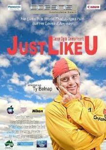 Film: Just like U (Australien 2010) mit Ty Belnap - einem Rettungsschwimmer mit Down-Syndrom, Australien, Behinderung Handicap, Down Syndrom, Down-Syndrome, englisch, Extrachromosom, Film Fernsehen TV Kino, Geschichten Stories, Sport, Trisomie 21,