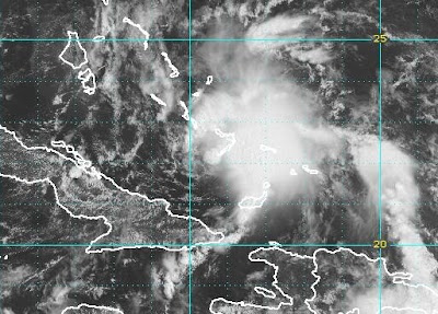 Atlantik aktuell: Tropische Depression 3 (potentiell Sturm BONNIE) bedroht die Bahamas, Kuba und Florida, Tropische Depression, Vorhersage Forecast Prognose, 2010, Hurrikansaison 2010, Atlantik, Karibik, Bonnie, Bahamas, Kuba, Florida