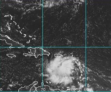 Atlantik aktuell: Hurrikan IGOR verschont wahrscheinlich die karibischen Inseln & potentieller Sturm JULIA, Julia, Igor, 2010, aktuell, Atlantik, Hurrikanfotos, Hurrikan Satellitenbilder, Hurrikansaison 2010, Karibik, NASA, Vorhersage Forecast Prognose, Zugbahn,